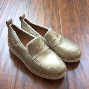 UGG Atwater Metallic Loafers